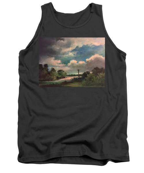 Mystery Of God  The Eye Of God Tank Top by Randy Burns