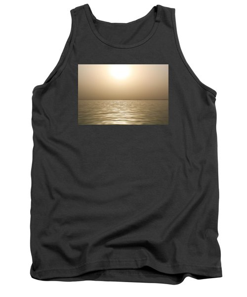 Mystery Sandstorm Sunset- The Red Sea Tank Top