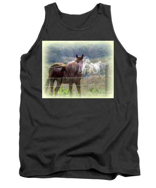 Mystic Horses Tank Top