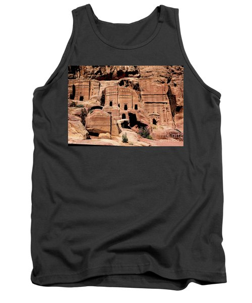 Tank Top featuring the photograph Nabataeans' City by Mae Wertz
