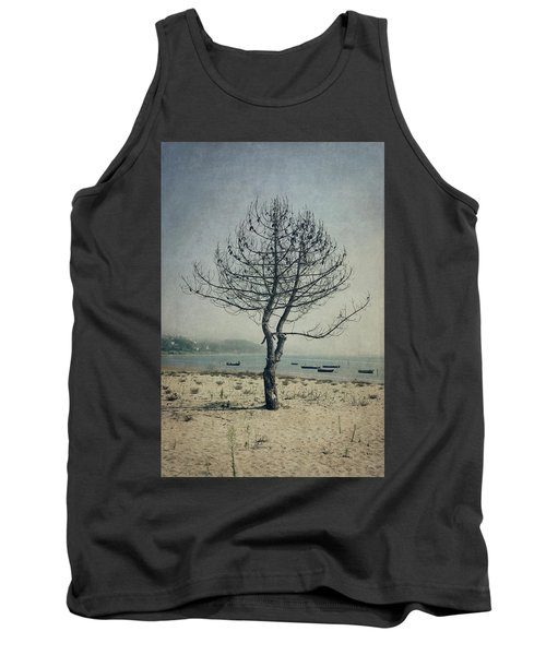 Tank Top featuring the photograph Naked Tree by Marco Oliveira