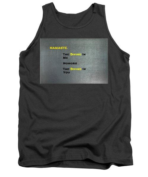 Namaste #1 Tank Top