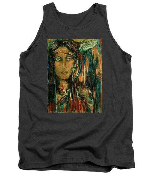 Nancy Ward Beloved Woman Nanye Tank Top by Dawn Fisher