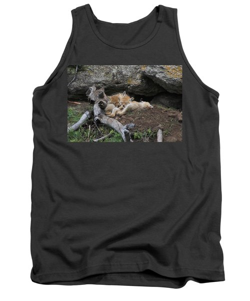 Tank Top featuring the photograph Nap Time by Steve Stuller
