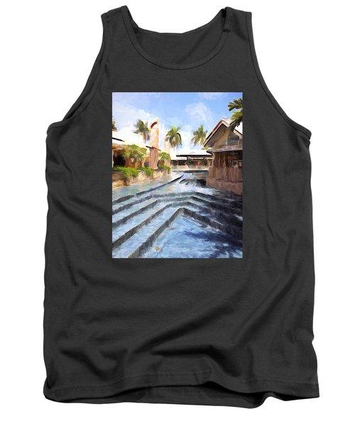 Naples Falls Shopping  Tank Top