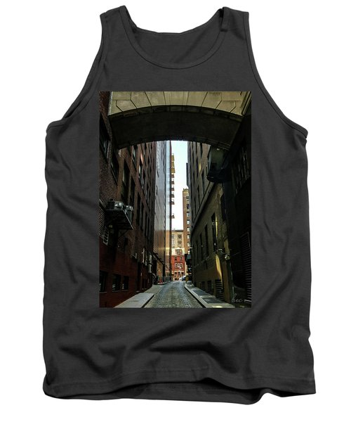 Narrow Streets Of Cobble Stone Tank Top by Bruce Carpenter