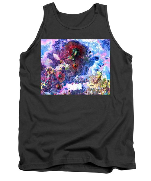Nasa Image-andes Mts., Chile - Bolivia-2  Tank Top