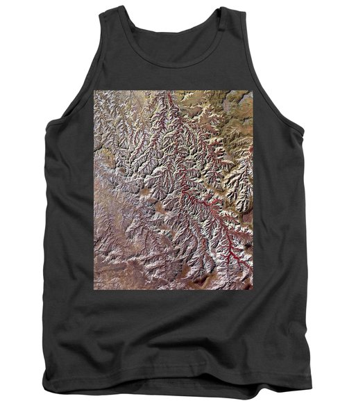 Nasa Image-canyonlands National Park, Utah-2 Tank Top