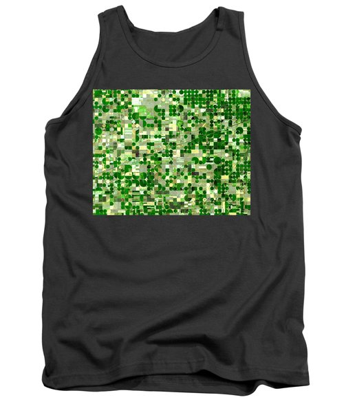 Nasa Image-finney County, Kansas-2 Tank Top