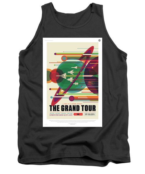 Nasa The Grand Tour Poster Art Visions Of The Future Tank Top