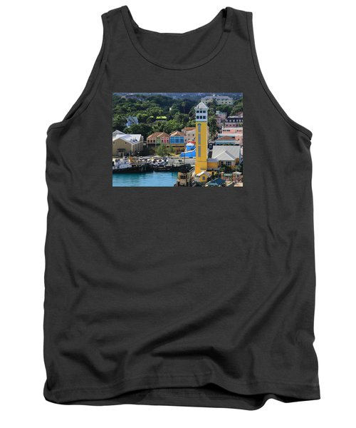 Tank Top featuring the photograph Nassau Bahamas by Coby Cooper