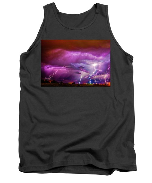 Nasty But Awesome Late Night Lightning 008 Tank Top