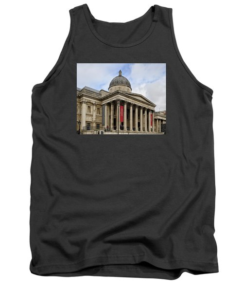 National Gallery London Tank Top by Shirley Mitchell