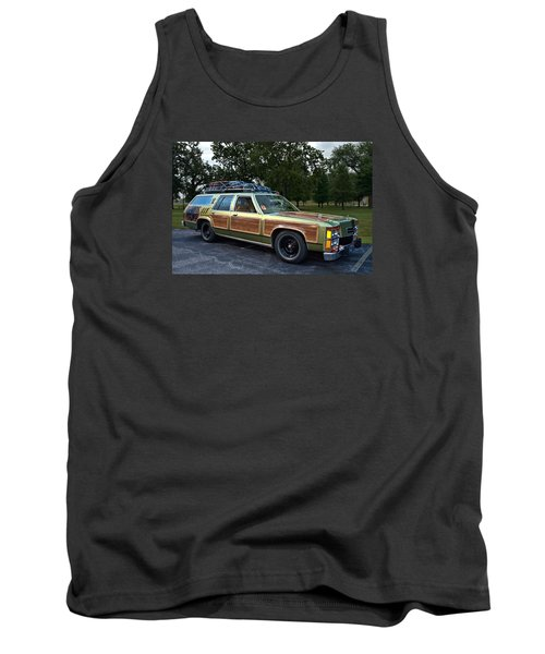 National Lampoons Vacation Truckster Replica Tank Top