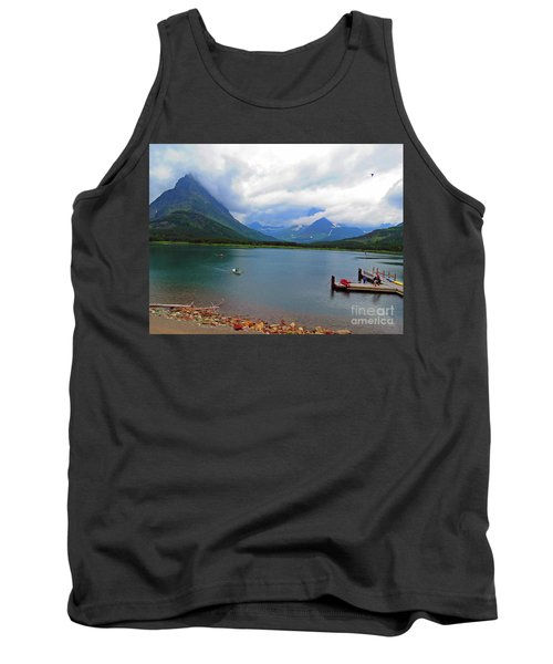 National Parks. Serenity Of Mcdonald Tank Top