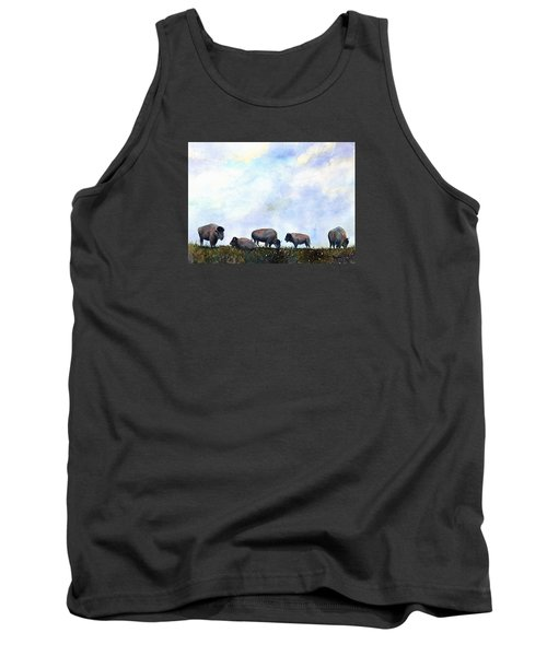National Treasure - Bison Tank Top