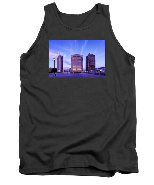 Nationwide Plaza Evening Tank Top by Alan Raasch