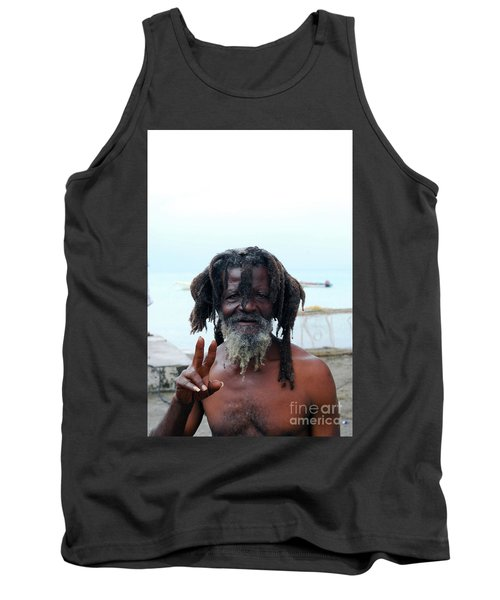 Tank Top featuring the photograph Native Man by Gary Wonning