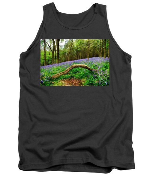Natural Arch And Bluebells Tank Top