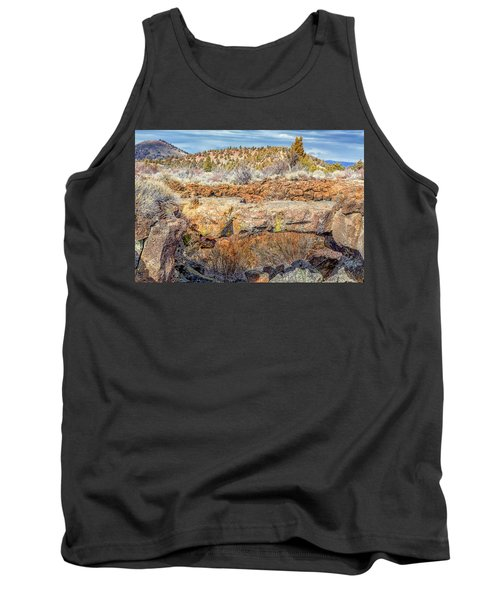 Natural Bridge At Lava Beds Tank Top
