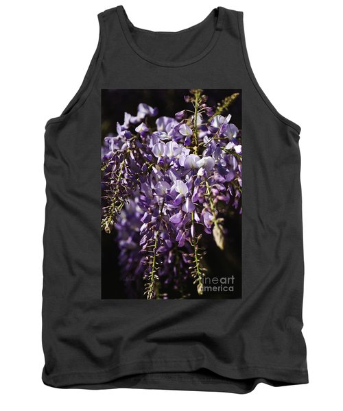 Natural Wisteria Bouquet Tank Top