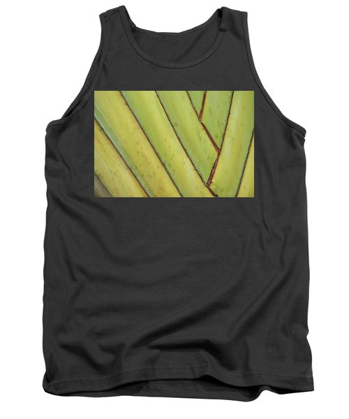 Nature Background, Green Leaves, Flowers In Natural Light And Sh Tank Top
