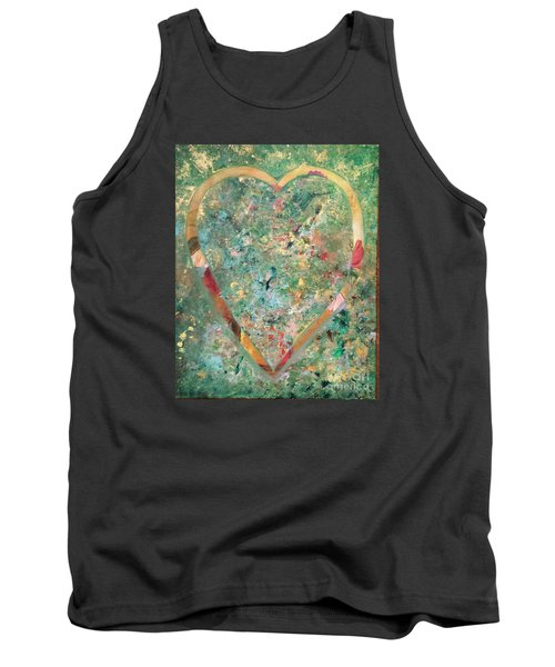 Tank Top featuring the painting Nature Lover by Diana Bursztein