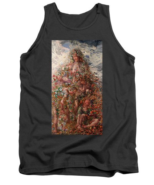 Nature Or Abundance Tank Top by Leon Frederic