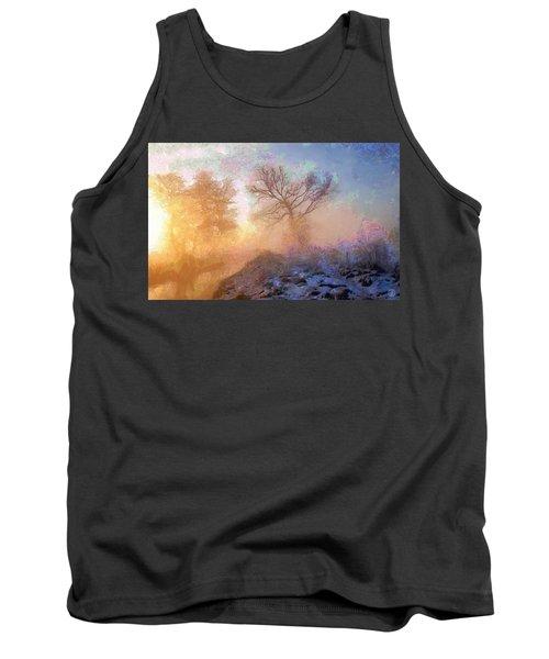 Nature Poetry Tank Top by Gun Legler