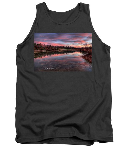 Nature Reserve Reflections Tank Top by John Loreaux