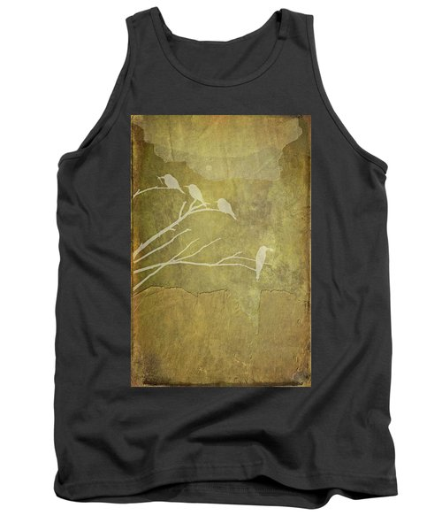 Tank Top featuring the photograph Nature Study In Gold  by Andrea Kollo