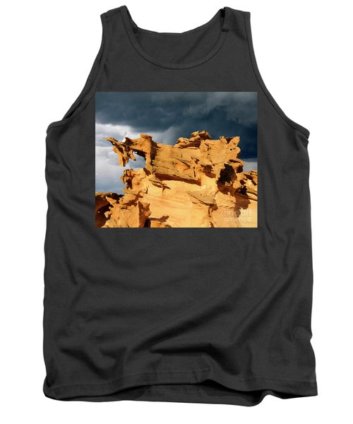 Tank Top featuring the photograph Nature's Artistry Nevada 3 by Bob Christopher