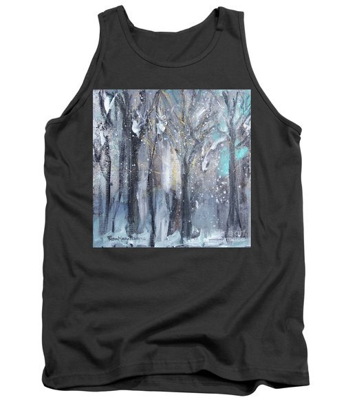 Tank Top featuring the painting Nature's Cathedral by Robin Maria Pedrero