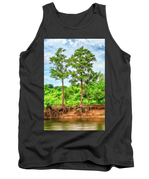 Nature's Electricity Tank Top
