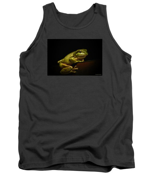 Natures Green 01 Tank Top by Kevin Chippindall