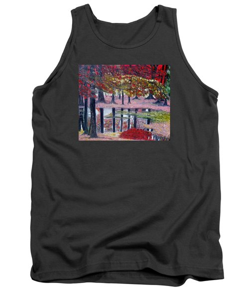 Tank Top featuring the painting Natures Painting by Marilyn  McNish