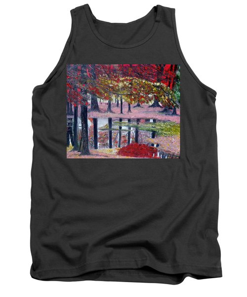 Natures Painting Tank Top
