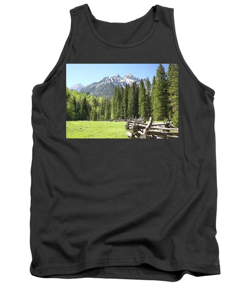 Nature's Song Tank Top by Eric Glaser