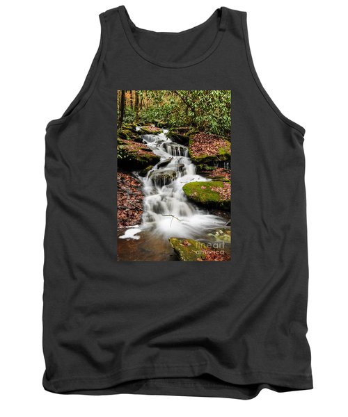 Natures Surprise Tank Top by Debbie Green