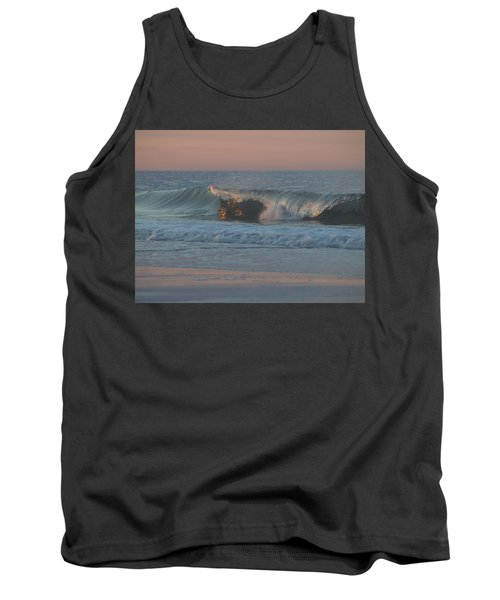 Tank Top featuring the photograph Natures Wave by  Newwwman