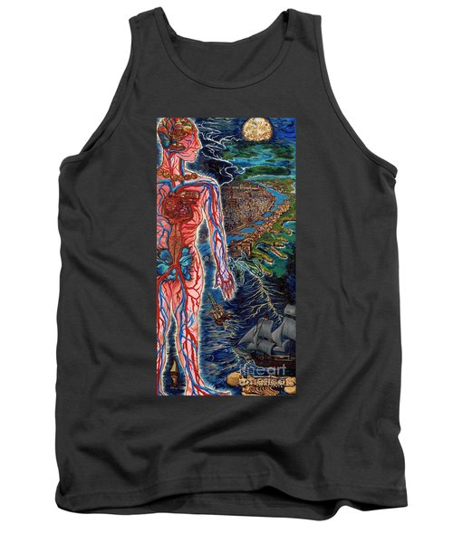 Navigation Tank Top by Emily McLaughlin