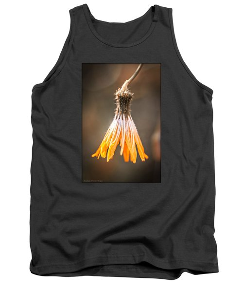 Tank Top featuring the photograph Near The End by Michaela Preston