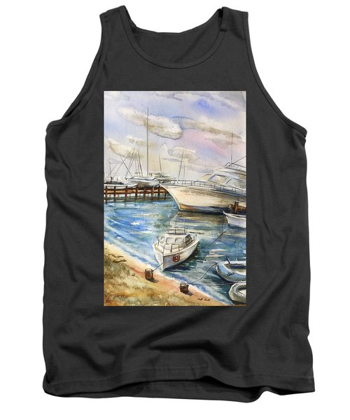 Near The Harbour 2 Tank Top