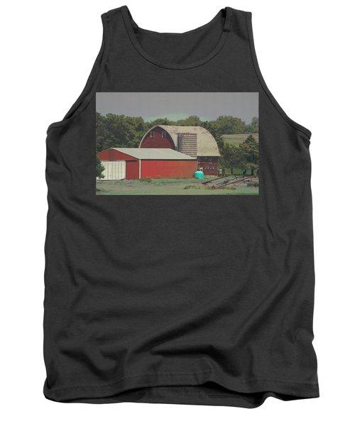 Nebraska Farm Life - The Family Farm Tank Top