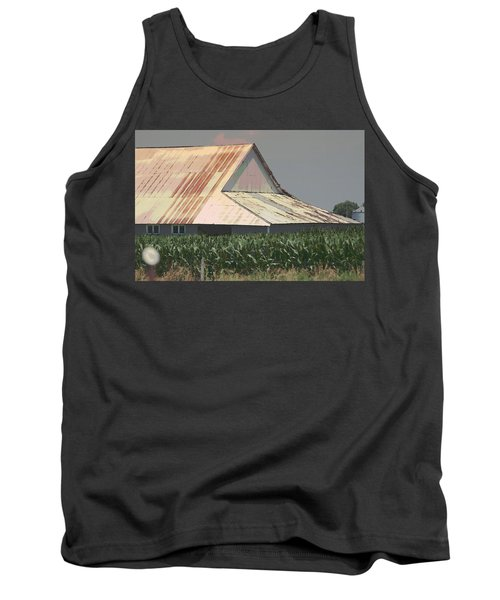 Nebraska Farm Life - The Tin Roof Tank Top