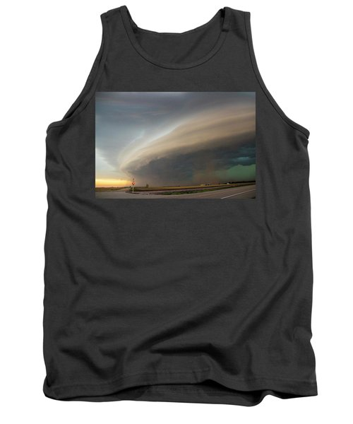 Nebraska Thunderstorm Eye Candy 026 Tank Top