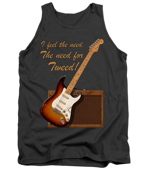 Need For Tweed T Shirt Tank Top
