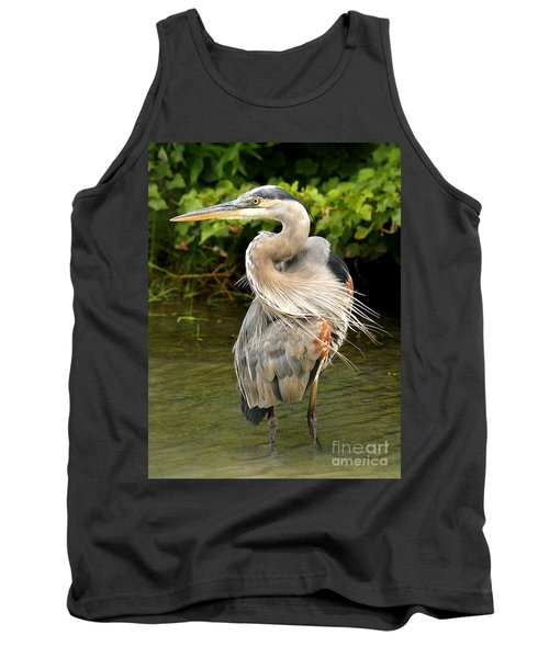 Tank Top featuring the photograph Thought You Had My Back by Heather King