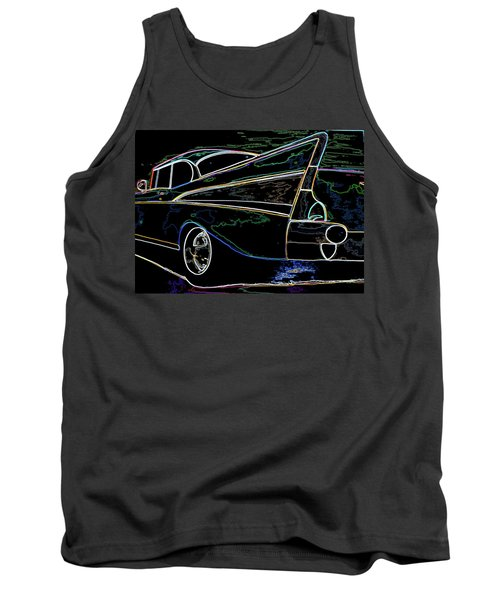 Neon 57 Chevy Bel Air Tank Top