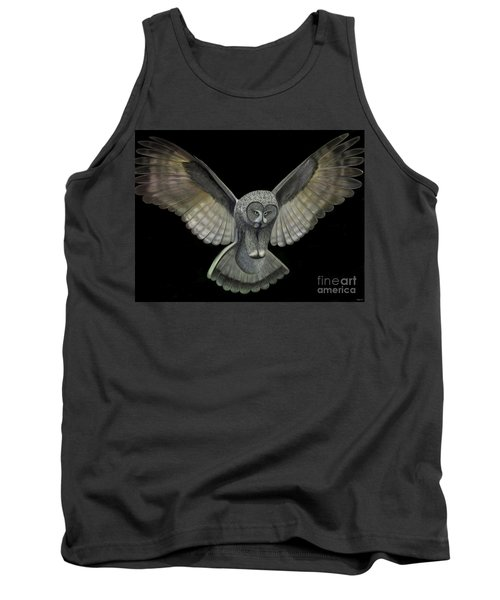 Neon Owl Tank Top